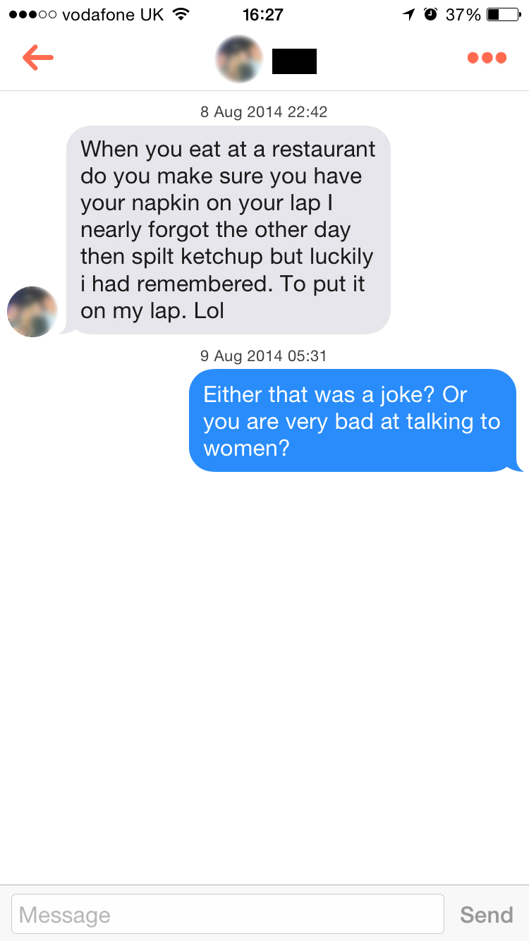 Online dating joke of the day